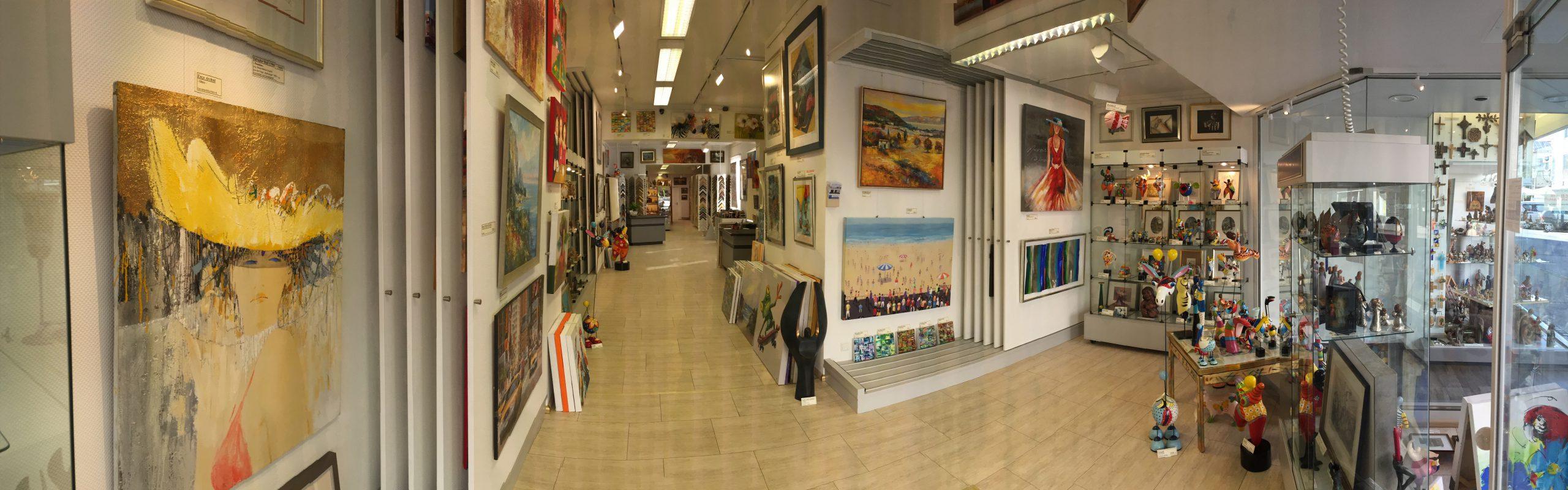 Galerie Eingang