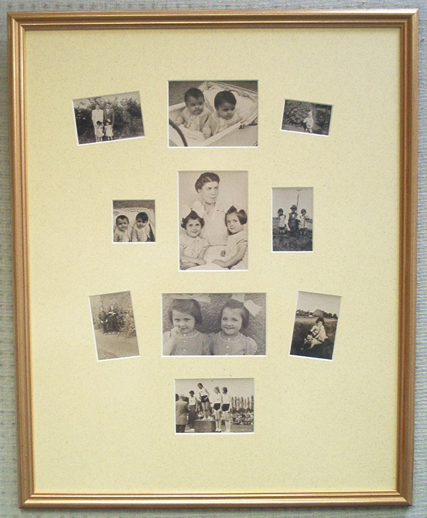 Familien-Photocollage