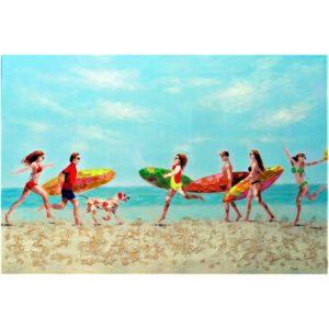 Arbrey  – On the beach –