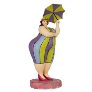 – Lady with Umbrella –